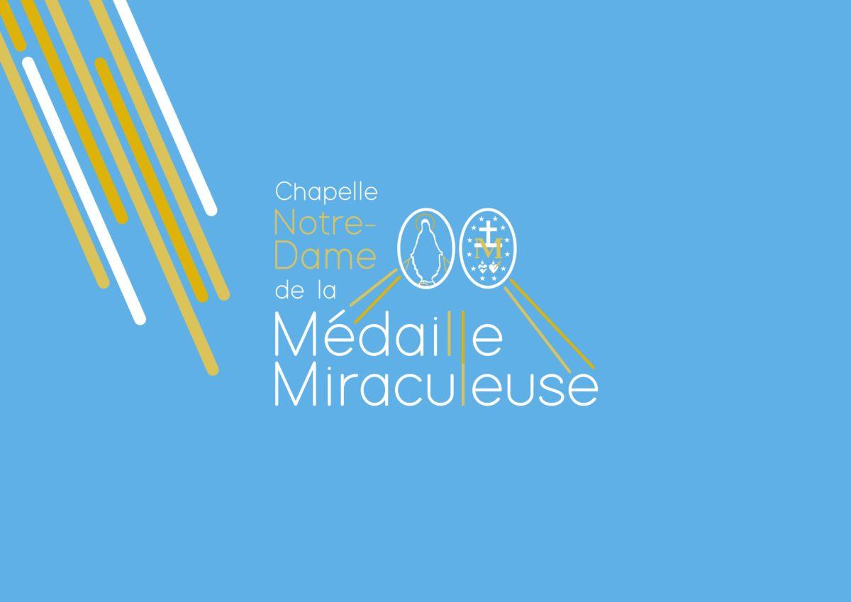 Identyfikacja wizualna Sanktuarium Matki Boskiej od Cudownego Medalika w Paryżu