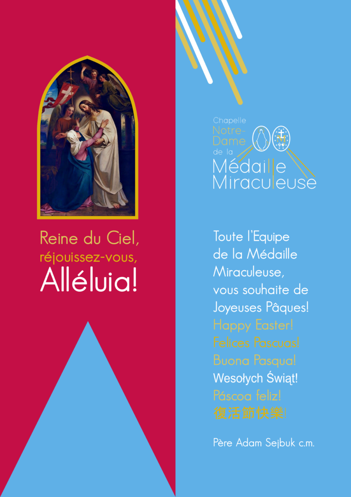 Projekt plakatu Wielkanocnego